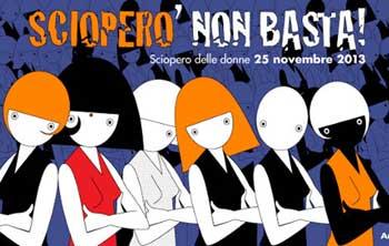 25 Novembre 2013, Giornata mondiale contro la violenza sulle donne