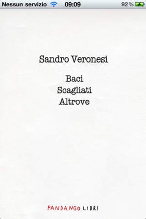 Leggere eBook su iPhone: Baci scagliati altrove di Sandro Veronesi