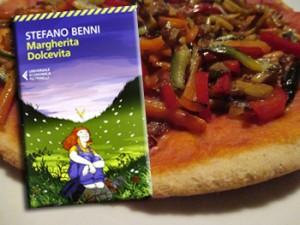 Margherita Dolcevita di Stefano Benni e la pizza con verdure saltate