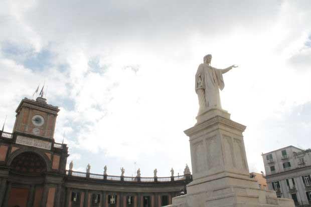 Piazza Dante a Napoli
