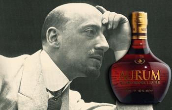 Gabriele D'Annunzio, Il piacere e il liquore Aurum