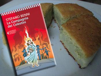 La Compagnia dei Celestini di Stefano Benni e i gettoni di gelato al pistacchio