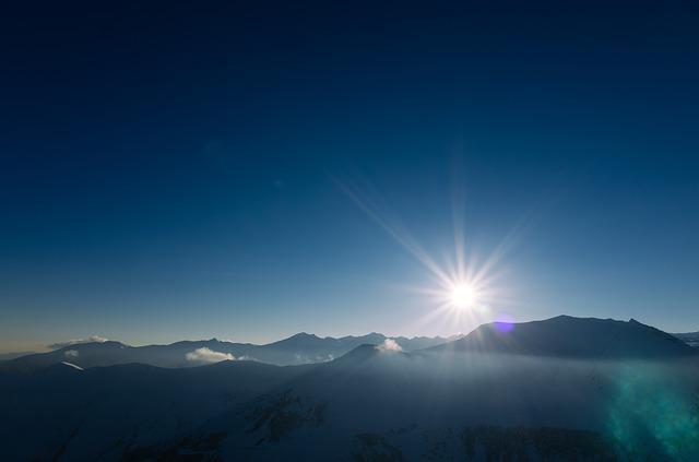 Il sole d'inverno e una poesia di Antonio Machado