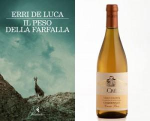 Erri De Luca, Il peso della farfalla e lo Chardonnay Cuvée Bois di Les Crêtes