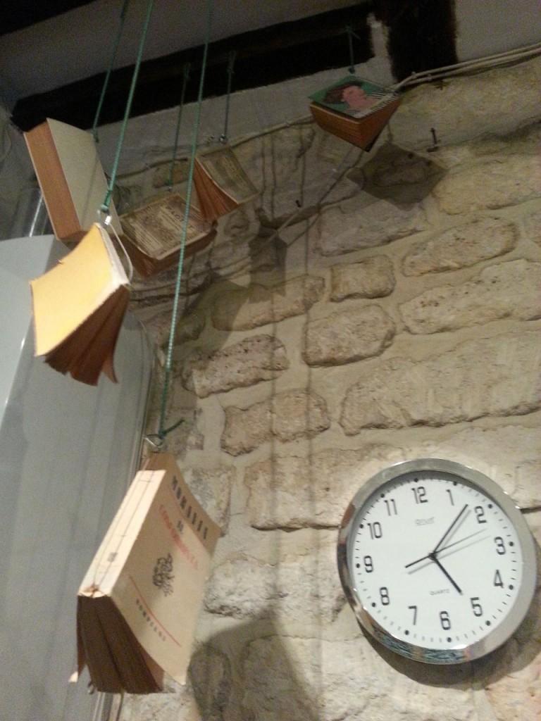 Libri volanti al Centre Culturel Italien di Parigi