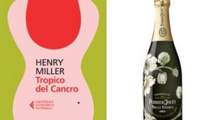 Tropico del Cancro di Henry Miller con lo Champagne Belle Époque Perrier-Jouët