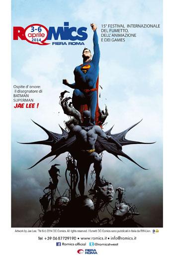 Doppio anniversario per Romics: 15 anni di manifestazione e 75 primavere per Batman