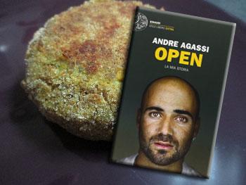 Open di Andre Agassi e il veg burger