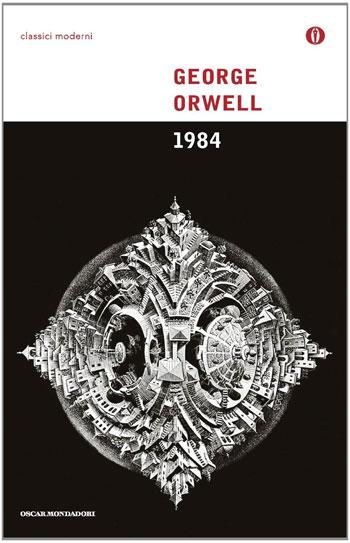 1984 di George Orwell con Vosne-Romanée 1er Cru aux Malconsorts 2008 Sylvain et Sébastien Cathiard