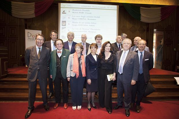 Premio Campiello 2014: Giuria dei Letterati Presieduta da Monica Guerritore e il Comitato di Gestione.