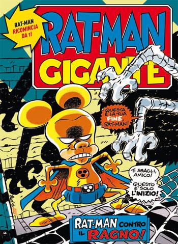 Rat-Man di Leo Ortolani con il Litrozzo di Le Coste