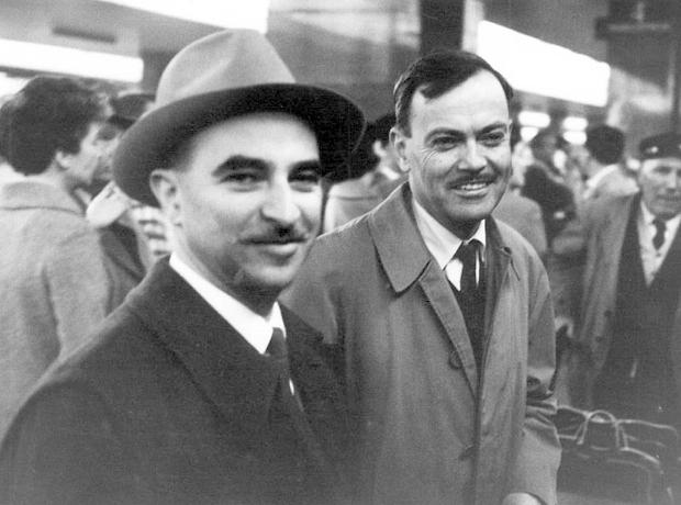Alberto Lattuada e Aldo Buzzi negli anni '50