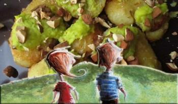 Il dono delle tre fate con le patate ai porri