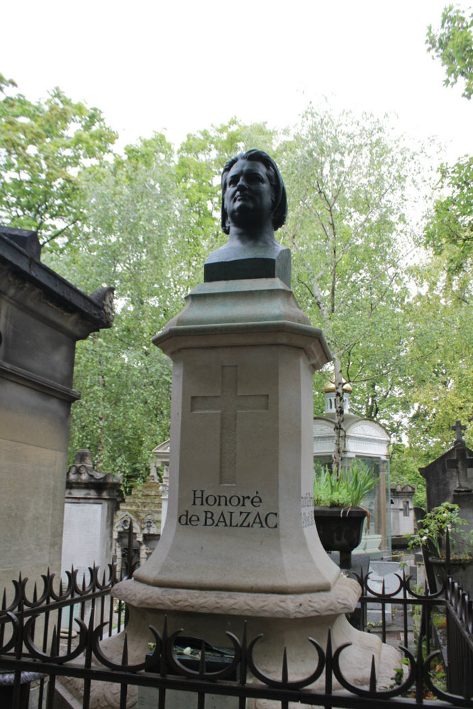 La tomba di Honoré de Balzac