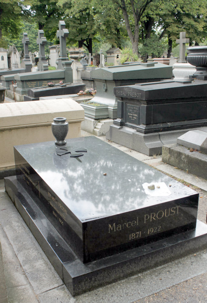 La tomba di Marcel Proust