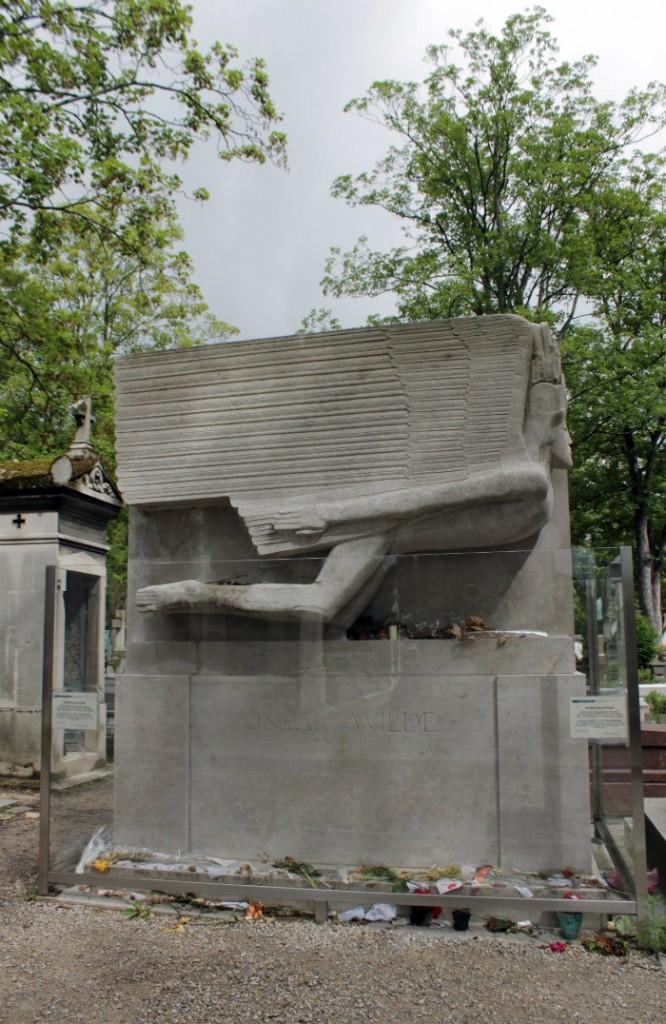 La tomba di Oscar Wilde