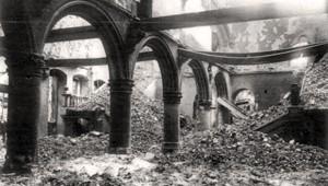Il simbolico destino della Biblioteca Universitaria di Lovanio, vittima delle due guerre mondiali