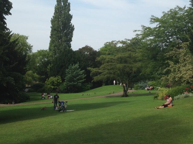 I Monuments Gardens di York