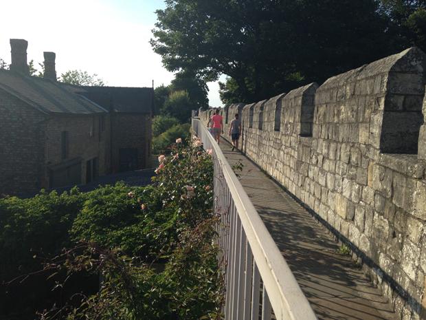 Le mura della città di York