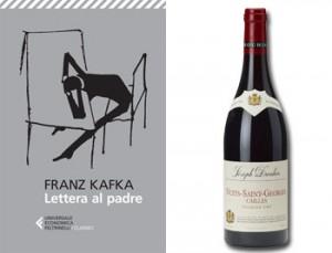 Lettera al padre di Kafka il Pinot Nero Nuits-Saint-Georges Cailles 1er Cru 2012