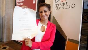 Maria Chiara Boldrini vince il Premio Campiello Giovani 2014
