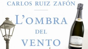 L'ombra del vento di Carlos Ruiz Zafón con il Pelorus di Cloudy Bay