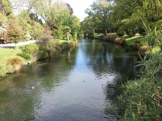 In Nuova Zelanda, Isola del Sud: Christchurch