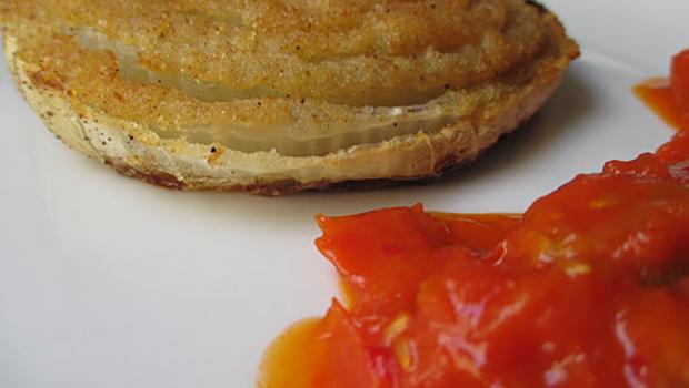 Per una cipolla di Tropea di Alessandro Defilippi e la cipolla al forno