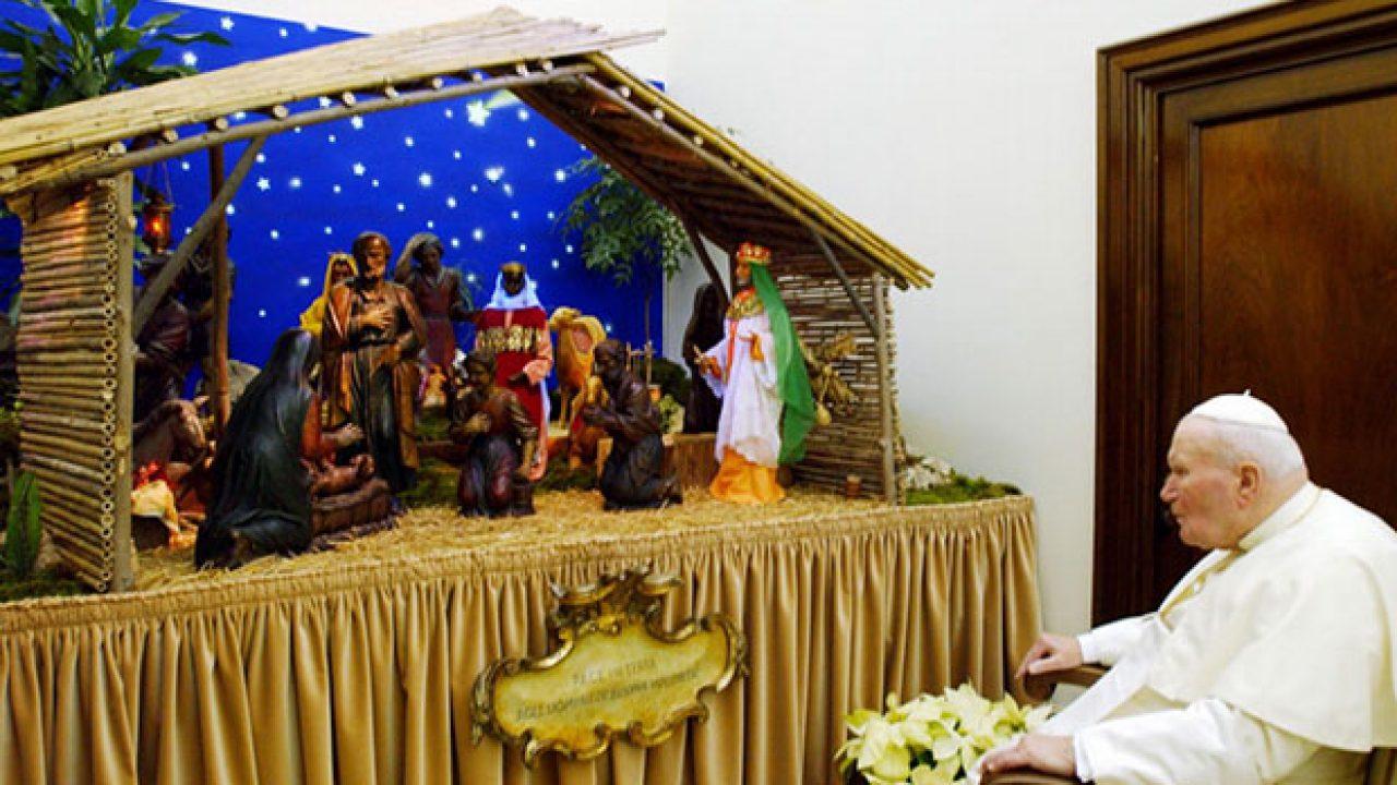 Frasi Natale Santi.Frasi Di Natale Di Giovanni Paolo Ii Le Piu