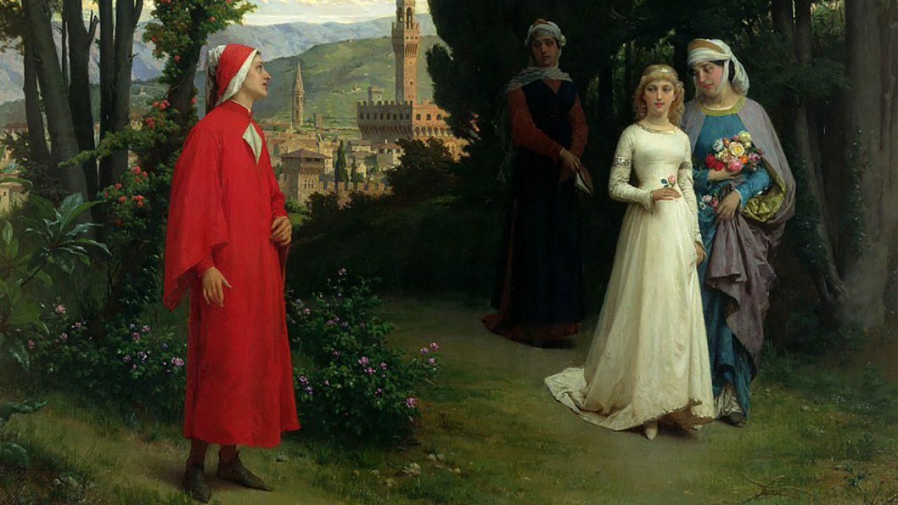 Frasi Matrimonio Dante.Dante E Beatrice L Amore Platonico Del Sommo Poeta Per