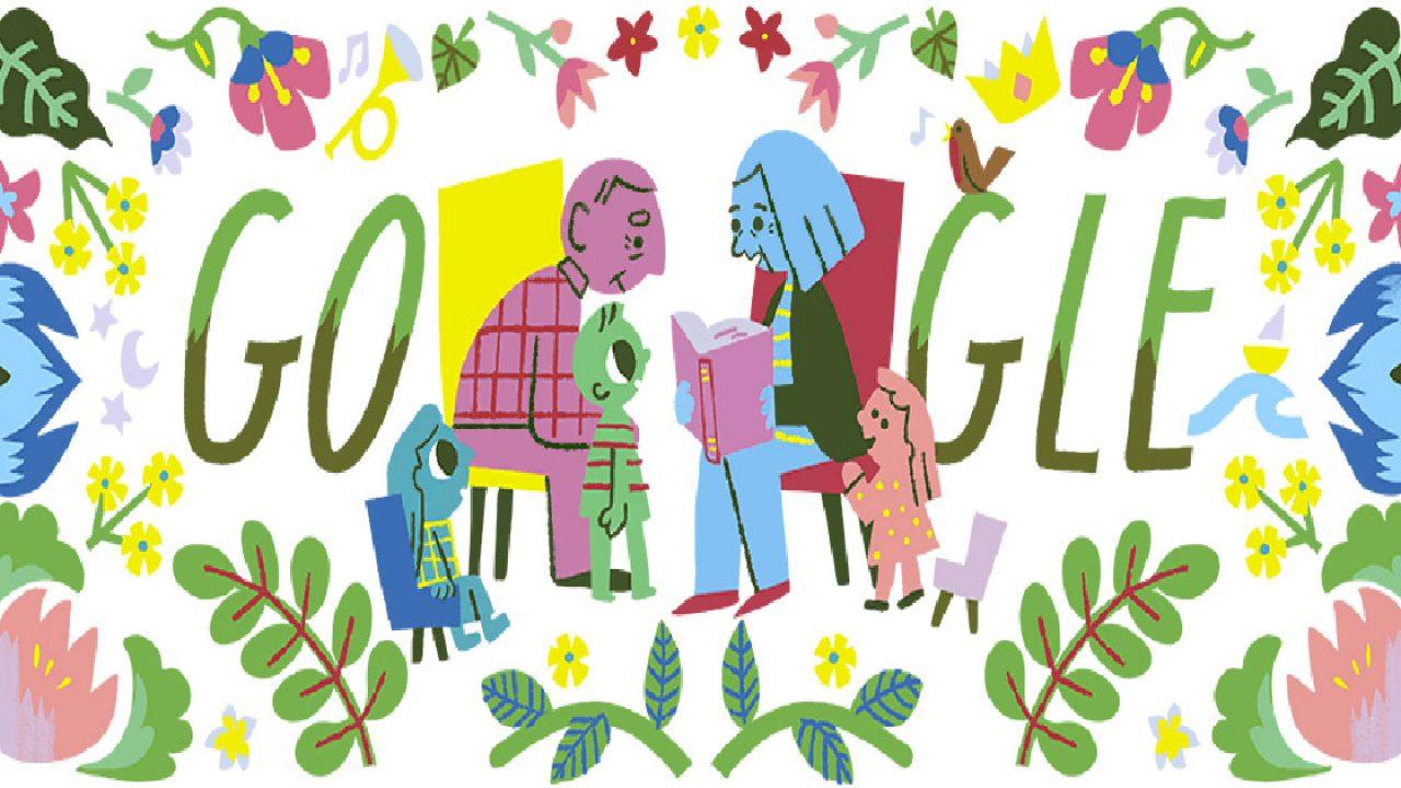 Calendario Festa Dei Nonni.Festa Dei Nonni 2018 Gli Auguri Di Google Con Un Libro E I